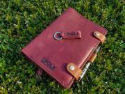 Notebook Adriano Infolk Leather Workshop, Деловой дневник Adriano Infolk Leather Workshop