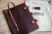 Обложка на реестр для регистрации нотариальных действий Infolk Leather Workshop