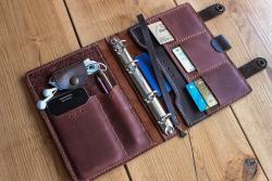 Обложка на книгу из натуральной кожи, блокнот кожаный, кожаный дневник, кожаный переплет, кожаная обложка ручной работы, leather cover, leather notebook, leather binding, handmade leather cover