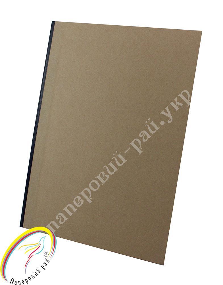 Папка архивная на резинке Silwerhof А4 800 мкм корешок 75мм серебристый 311975-77
